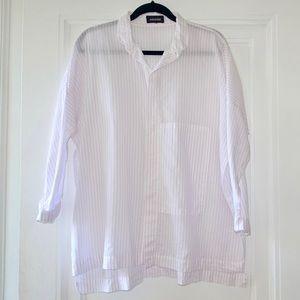 Sheer eskandar Oversized Shirt